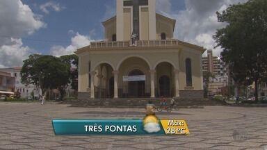 Temperaturas altas voltam às cidades do Sul de Minas nesta quarta-feira - Temperaturas altas voltam às cidades do Sul de Minas nesta quarta-feira