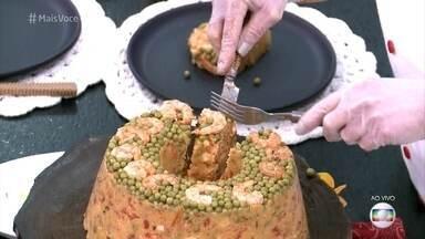 Cuscuz Paulista - Ana Maria Braga mostra o passo a passo para a receita deliciosa