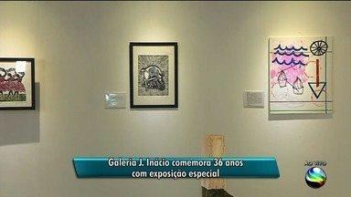 Galeria J. Inácio comemora 36 anos com exposição especial - Galeria J. Inácio comemora 36 anos com exposição especial.