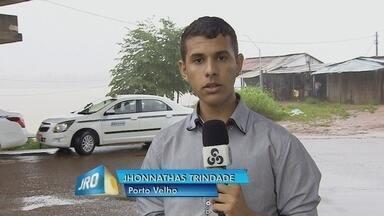 Em Porto Velho, a defesa civil alerta para o aumento do nível do rio madeira - Jhonnathas Trindade.