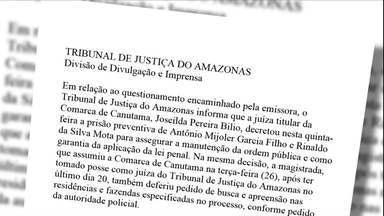 Justiça do AM prende três acusados após sumiço de líderes Sem-Terra - Flávio Lima de Souza, Marinalva de Souza e Jairo Feitosa Pereira foram vistos pela última vez dia 14 de dezembro. Buscas foram suspensas.