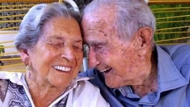 Casal do interior de MG comemora 80 anos de união - Seu Olegário e Dona Rita completaram 'bodas de carvalho'. Para entrar no Guinness,eles precisam passar o casal americano que ficou casado por 86 anos.