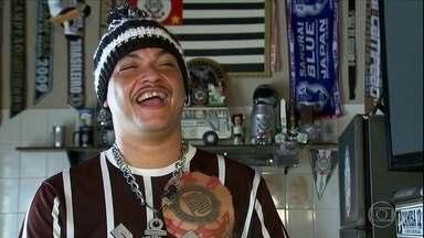 Conheça torcedores folclóricos e fanáticos pelo Corinthians espalhados pelo interior de SP - Conheça torcedores folclóricos e fanáticos pelo Corinthians espalhados pelo interior de SP
