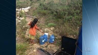 Falta de energia elétrica e água prejudicam turismo na vila de São Jorge - Sem eletricidade, bombas que captam água para o abastecimento não funcionaram. Algumas pousadas cancelaram reservas.