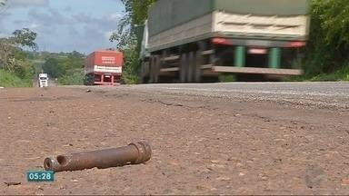 Peças que se soltam de veículos podem provocar acidentes - Peças que se despendem de veículos podem provocar acidentes