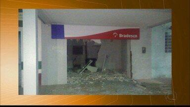 Grupo explode caixas eletrônicos em São Sebastião de Umbuzeiro - Este foi o primeiro caso de ataque na rede bancária neste ano de 2018.