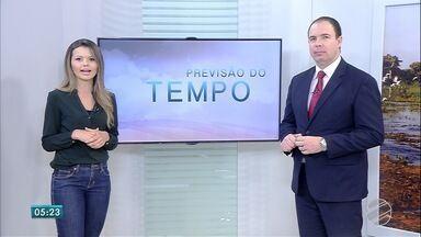 Confira a previsão do tempo para esta quinta-feira (5) em MS - Previsão para Mato Grosso do Sul é de altas temperaturas e chuva.
