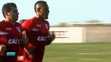 CRB conta com reforço para nova temporada - O atacante Marcão luta para ser titular no Galo.