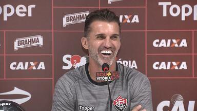 Mancini fala sobre o início da temporada 2018 no Vitória - Confira as notícias do rubro-negro baiano.