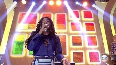 Jah 9 encerra o 'Encontro' com música - Cantora jamaicana é representante da cultura rastafári