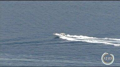 Vancop sobrevoa Ilhabela - Tempo está aberto no arquipélago.
