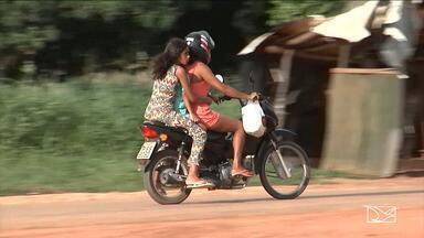 Aumentam os flagrantes de imprudência cometidos por motociclistas em Balsas - Pior é que a maioria está trafegando irregularmente, segundo as autoridades de trânsito no sul do estado.