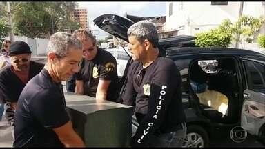 Polícia faz operação contra golpe de pirâmide financeira no Recife - Investigações apontam que empresas de fachada foram criadas para sustentar golpe.