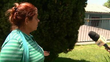Mulher conhecida como Maria Paraguaia presta depoimento em Cascavel - Ela está presa desde outubro, quando três menores paraguaios foram encontrados com ela.