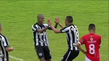 Botafogo goleia o River-PI pela Copinha - Clube carioca precisa apenas de um empate para garantir classificação para a próxima fase.