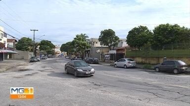 Moradores e comerciantes do bairro Planalto, em BH, reclamam de furtos na região - Muitos comerciantes estão reforçando a segurança nas lojas.