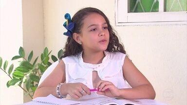 Atriz pernambucana de 9 anos mostra talento em série da TV Globo - Lissa Marte apresenta um pouco da sua história