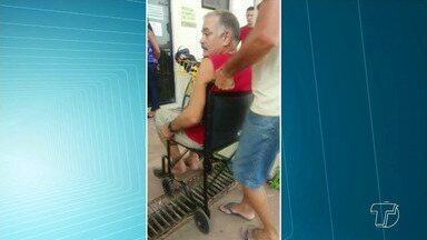Portadores de deficiências físicas reclamam de falta de acessibilidade, em Santarém - Um dos maiores problemas é percebido no Centro comercial, que apresenta desníveis nas calçadas.