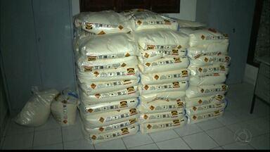 Polícia faz apreensão de mais de duas toneladas de explosivos na Paraíba - Material estava em casa abandonada e sem segurança.