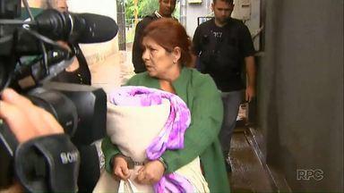 """""""Maria paraguaia"""" presta depoimento em Cascavel - Ela foi preso quando estava com três menores paraguaios."""