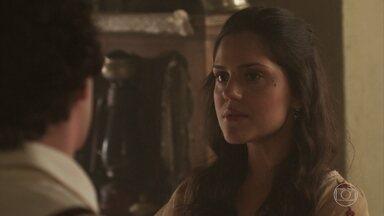 Giuseppe pede que Helena o deixe voltar para casa - Helena não aceita o italiano de volta