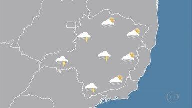 Domingo será de tempo instável em quase todas as regiões de Minas Gerais - Veja as informações da meteorologia.