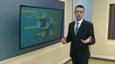 O domingo dos paranaenses será de tempo instável - Chuva forte foi registrada na região oeste.