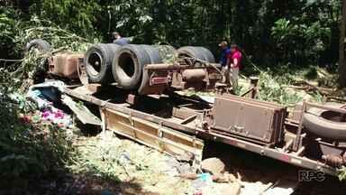 Quatro pessoas morrem em acidente em União da Vitória - Entre os mortos estão duas crianças