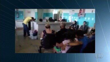 Gestantes reclamam de longa espera na Maternidade Dona Íris, em Goiânia - Mulheres grávidas, algumas em situação de risco, aguardam há dias por internação e cirurgias.