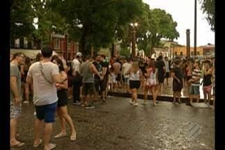 Iniciou neste sábado o pré-carnaval da Cidade Velha, em Belém - Bloquinhos de carnaval desfilam pelas históricas ruas da cidade