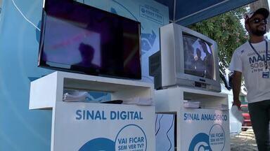 TV Gazeta realiza ação de conscientização sobre TV Digital em Marechal Deodoro - Daqui a 4 meses, sinal analógico será desligado em Maceió, municípios da região Metropolitana e do interior do estado.