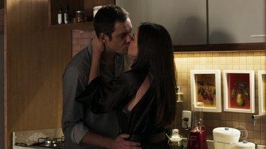 Aura e Gael tomam café após passarem noite juntos - O casal afirma ter gostado muito do programa