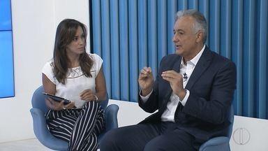 Prefeito de Rio das Ostras, Carlos Augusto, participa do quadro 'E agora, Prefeito?' - Assista a seguir.