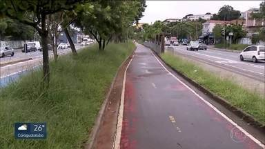 Ciclistas reclamam do programa Asfalto Novo - O número de ciclistas na ciclovia do Rio Pinheiros aumentou 17% no ano passado em relação a 2016. O governo do Estado disse que, nos finais de semana, cerca de 2 mil bicicletas passam por lá.