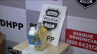 Três pessoas sofrem queimaduras depois de beberem líquido tóxico em um bar - Segundo Polícia Civil, grupo consumiu a bebida como sendo tequila