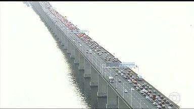 Radares começam a funcionar na Ponte Rio-Niterói - Quem ultrapassar o limite de 80 quilômetros vai ser multado