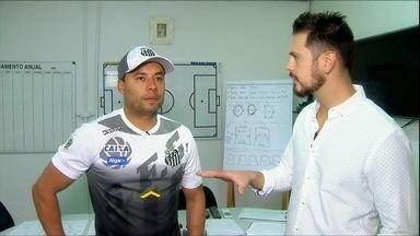 Jair Ventura fala sobre os primeiros dias como técnico do Santos, e projeto boa temporada - Jair Ventura fala sobre os primeiros dias como técnico do Santos, e projeto boa temporada