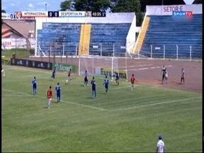 Meninos do Internacional conseguem nova vitória na Copinha - Equipe, que está em Osvaldo Cruz, goleou a Desportiva Paraense.