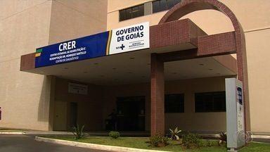 Inaugurada nova ala do Crer, em Goiânia - Governador participou de estreia de nova parte da unidade de saúde.