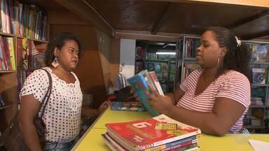 Iniciativa de pais de alunos estimula a troca de livros em Salvador - A medida ajuda a conscientizar crianças e aumenta a economia dos pais nesta época de compra dos materiais escolares.