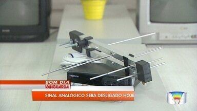 Sinal analógico de TV será desligado nesta quarta-feira - Medida vale para 19 cidades da região.