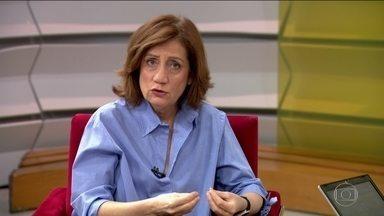 """Miriam Leitão comenta afastamento de parte da cúpula da Caixa - """"Desequilíbrios da Caixa foram causados pelo seu uso político"""", destaca ela, alertando para riscos de reputação da empresa."""