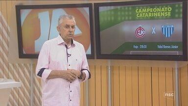 Roberto Alves fala sobre a estreia do Campeonato Catarinense - Roberto Alves fala sobre a estreia do Campeonato Catarinense