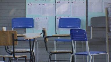Número de professores no DF vem diminuindo ano a ano - Muitos professores vem sofrendo com problemas psiquiátricos.