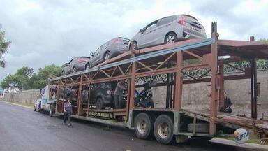 Carros apreendidos na Operação Sevandija somam R$ 2 milhões - Veículos serão leiloados na capital paulista.