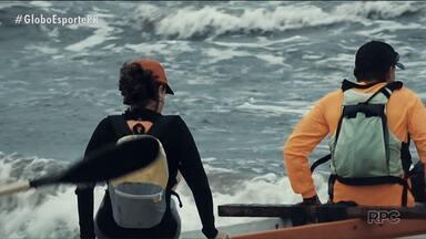 Eu Atleta Verão faz um passeio de canoa havaiana até o Arquipélago dos Currai - De canoa havaiana, nossa equipe segue até o Arquipélago dos Currais, um tesouro do nosso litoral