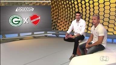 Paulo Nunes estreia como comentarista no clássico Goiás x Vila Nova - Ex-atacante de Grêmio, Palmeiras e Fla entra para a equipe da TV Anhanguera