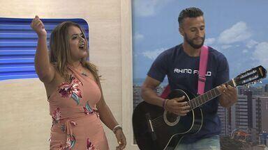 Karol Vilally se destaca no cenário musical em Alagoas - Ela tem como inspirações cantoras Solange Almeida e Márcia Filipe.