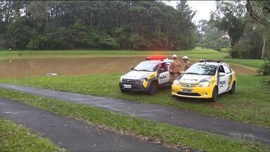 Corpo de motorista de Uber é encontrado na Região Metropolitana de Curitiba - Carro que pertencia ao homem estava abandonado no Parque Tingüi.