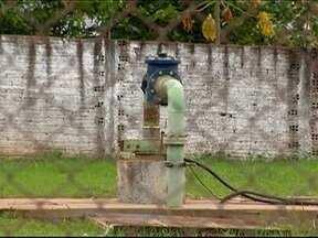 Reparos em poço de abastecimento de água são concluídos em Dracena - Bomba foi afetada por um raio durante temporal na tarde desta quinta-feira (18).